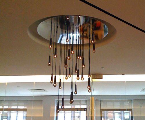 Microphone chandelier | future studio | Pinterest | Chandeliers ...