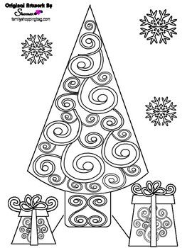 Christmas Coloring Pages At Family Shopping Bag Coloring Pages