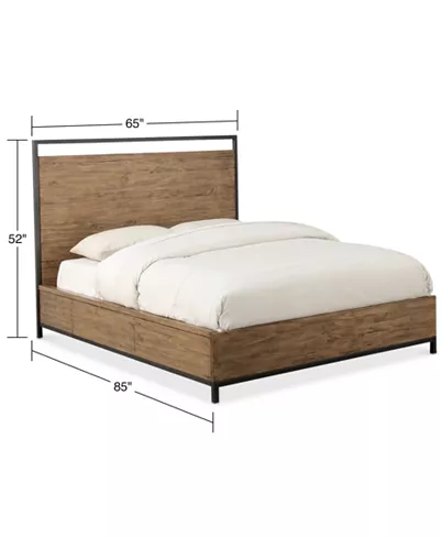 Furniture Gatlin Storage Queen Platform Bed Created For Macy S Reviews Furniture Macy S In 2020 King Platform Bed Platform Bed Queen Platform Bed