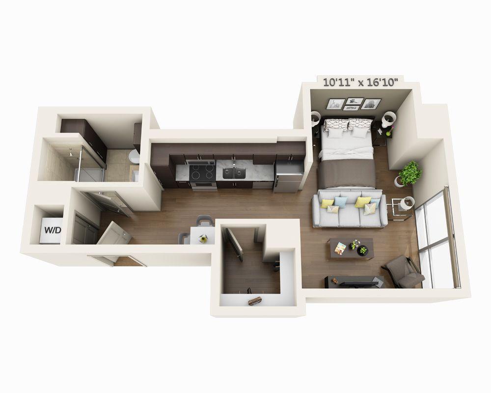 Studio E1h House Floor Design Studio Apartment Floor Plans My House Plans