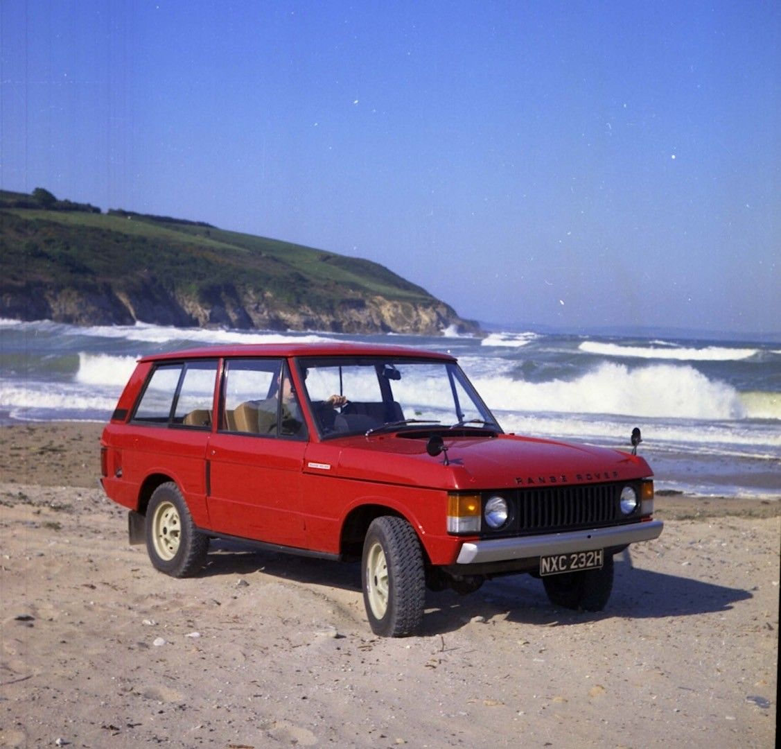 Range Rover Through the Years