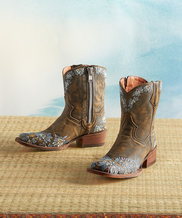 Corral Embroidered Cowboy Boot - Women's Shoes in Told Cango Tobacco