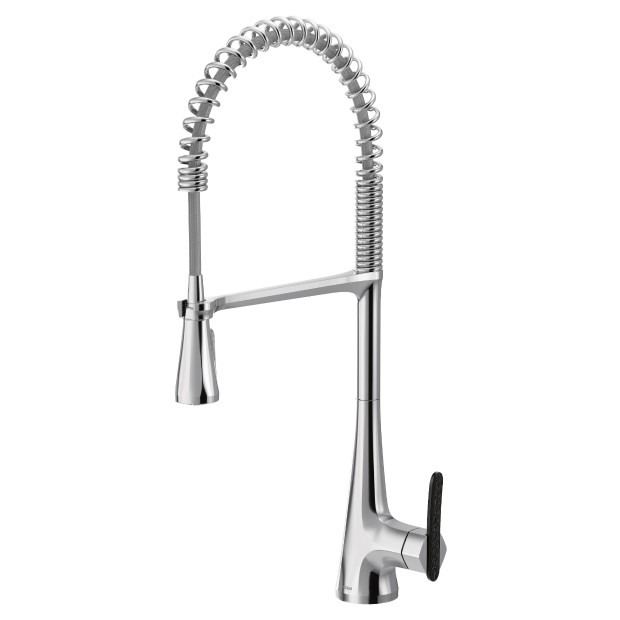 Sinema Chrome One Handle High Arc Pulldown Kitchen Faucet In 2020