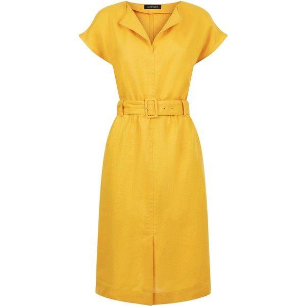 Womens Solid Shirt Dress Jaeger pcldm1jQ