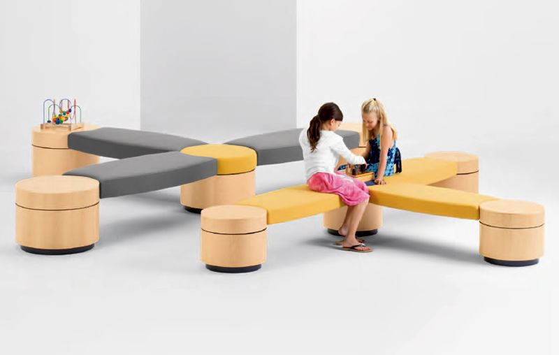 Modular Modern Furniture Design For Kids Seating Islettes From Arcadia «  Modern « Style « Design Wagen
