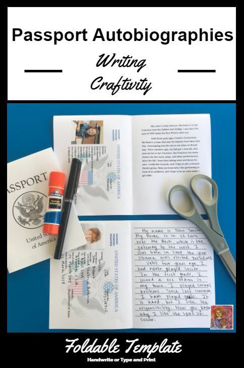 A fun way to publish autobiographies for upper elementary Students