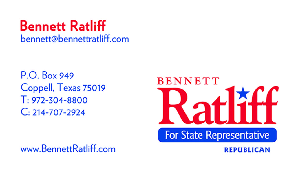 Bennett Ratliff Business Card created by Marni G Designs #MarniGDesigns #BusinessCard #BC #BennettRatliff