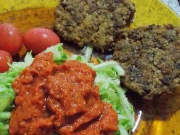 Receita de Hambúrguer de aveia vegano - Tudo Gostoso