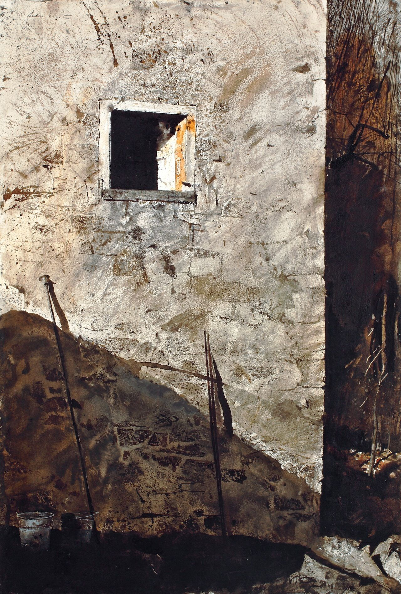 Finding Refuge In Wyeth S Windows With Images Andrew Wyeth