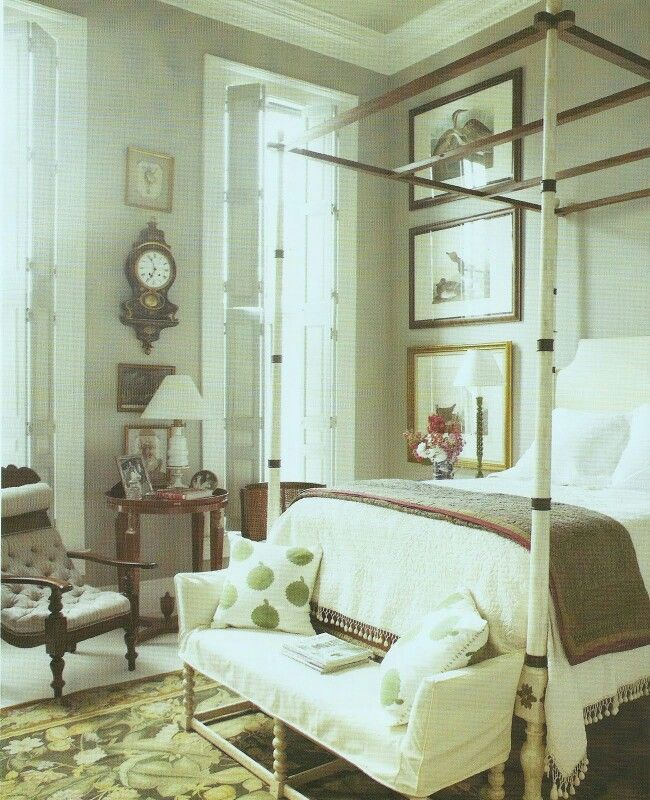 Guest Bedrooms Room Master Luxury Southern Gothic