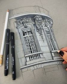 Architectural Drawings of Interesting Buildings #arquitectonico