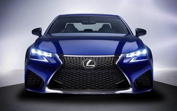 Lexus Gs 4k 2017 Luxury Cars Front View Blue Lexus Cars