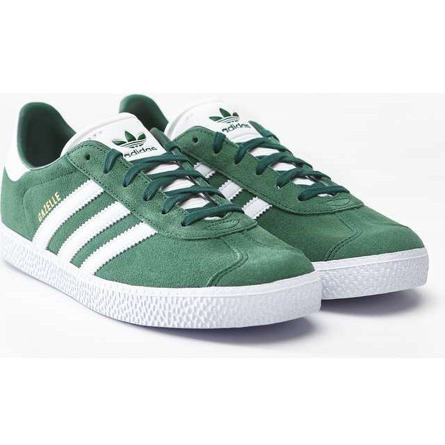 Sportowe Damskie Adidas Adidas Zielone Gazelle J 697 Collegiate Green Footwear White Foo White Adidas Adidas Samba Sneakers Adidas Gazelle Sneaker