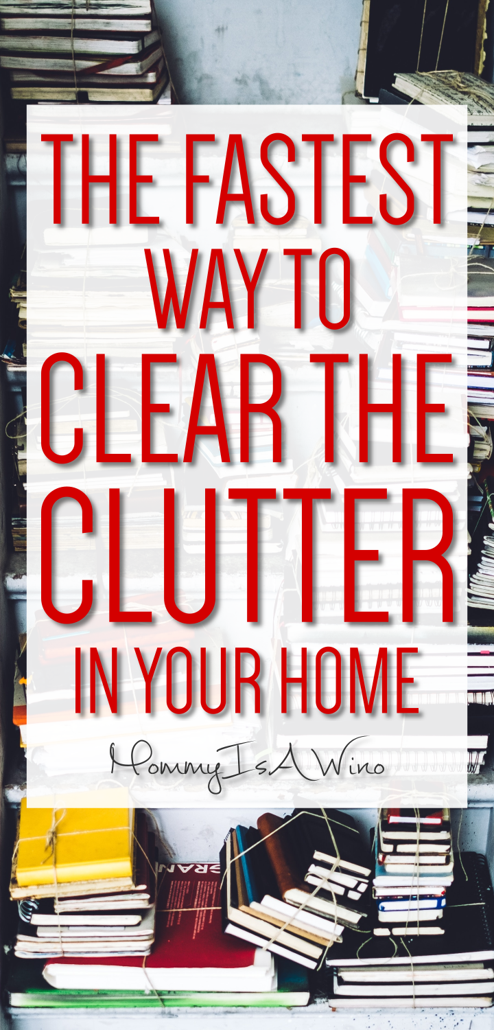 How to Declutter Your Home Fast - Mommy Thrives #summerhomeorganization