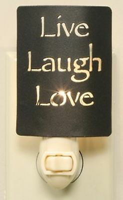 Country Farmhouse Metal Live Laugh Love Night Light Bronze #fashion #home #garden #homedcor #otherhomedcor (ebay link)