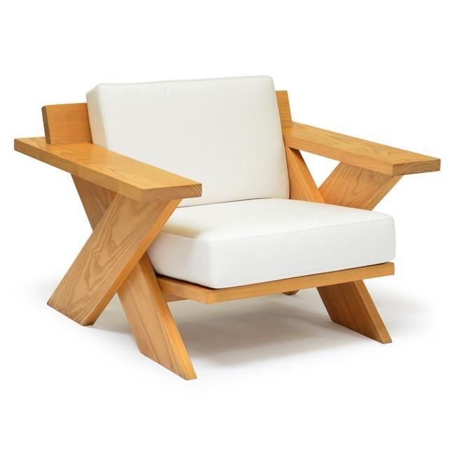 Antieke Lounge Stoel.Summit X Lounge Chair Stoel Steigerhout Meubel Ideeen En