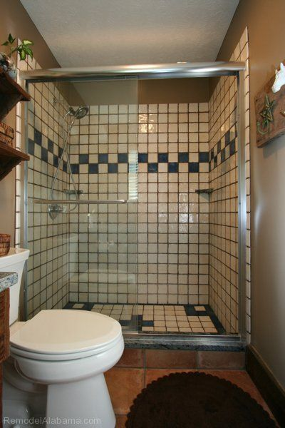 Superbe Decorative Tile Shower. Kimbro Renovations, Montgomery, Alabama