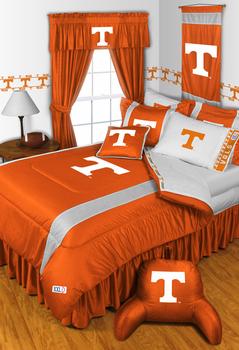 Tennessee Volunteers 13 Piece Queen Sidelines Bedding In A