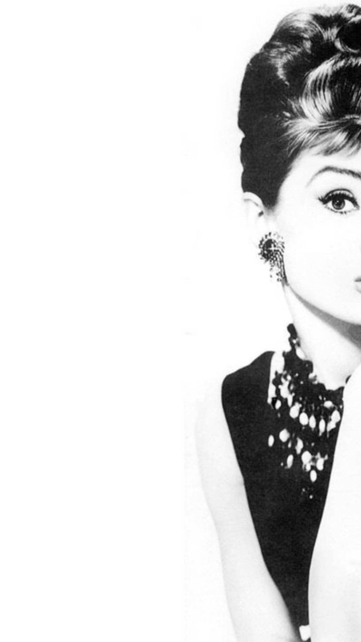 Pin By Bashaiir 94 On Mahla Iphone 6 Plus Wallpaper Chanel Wallpapers Audrey Hepburn Wallpaper