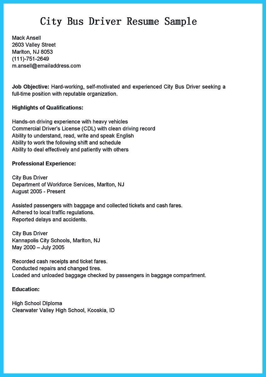 Truck Driver Resume No Experience Lovely Bus Driver Cover Letter With No Experience Awesome Cover Driver Job Resume Resume Examples