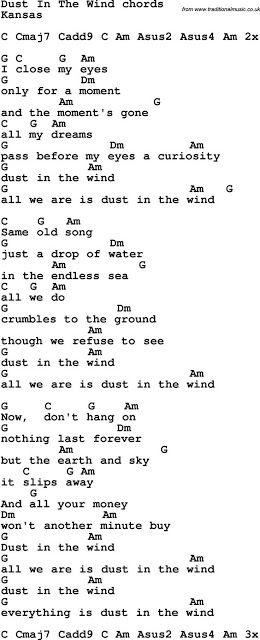 Dust In The Wind Chords Music Chords Ukelele Songs Ukulele Songs