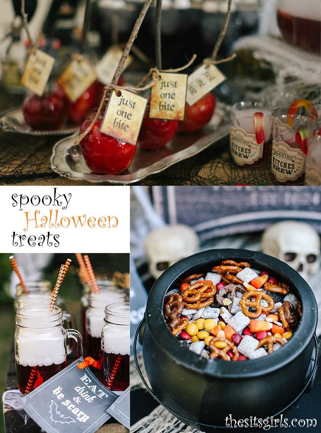 A trio of Halloween Treats that will add the perfect spooky touch to your next Halloween party. Easy recipes your kids can help you make.