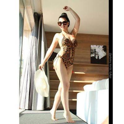 صور اللبنانية قمر بكامل اثارتها رحال نيوز Fashion Swimsuit Season One Piece