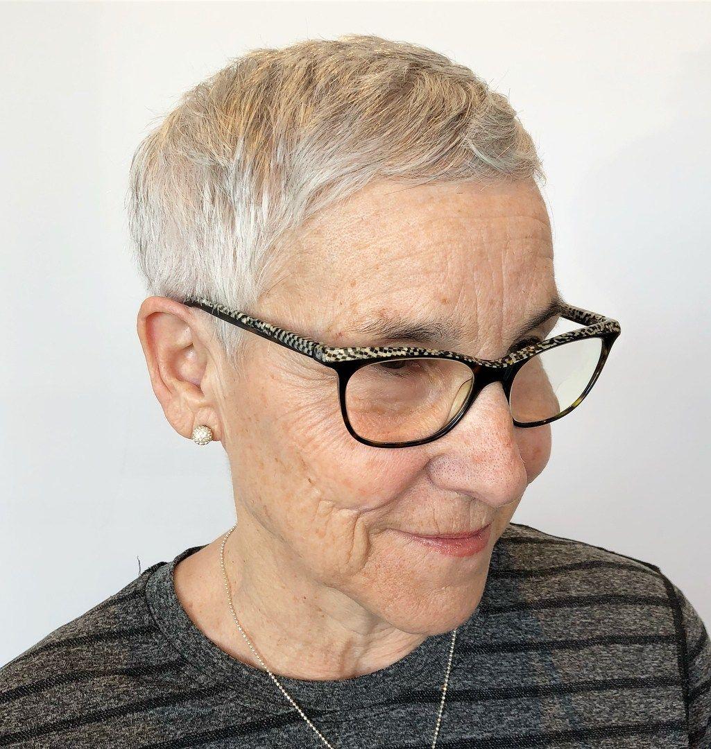 25+ Haircuts for seniors with fine hair ideas