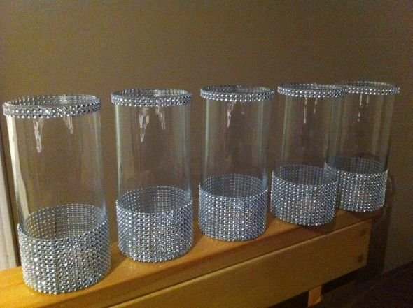 bling centerpieces for wedding reception | Bling Holders : wedding ...
