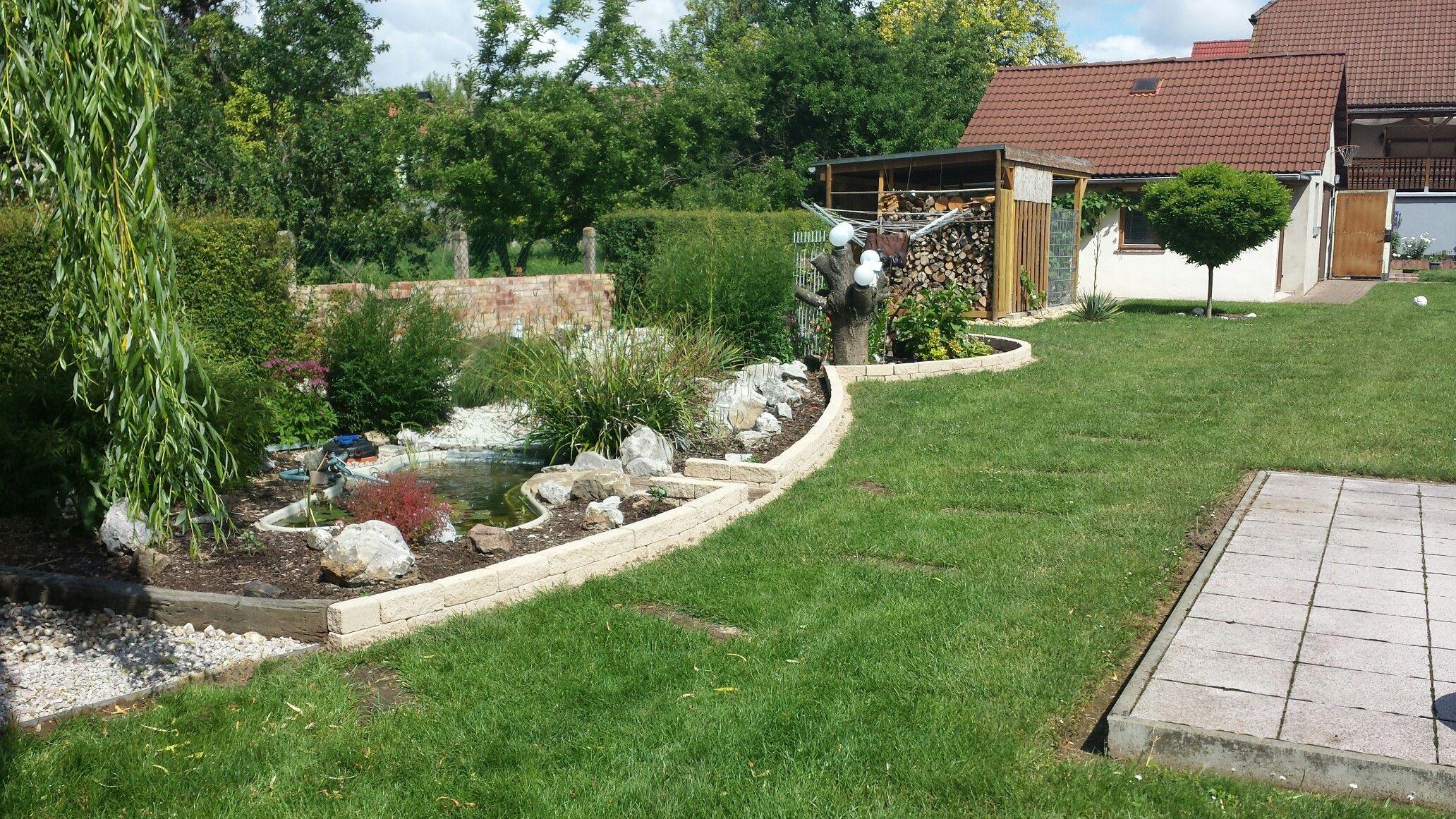 Teichbau  Teichbau | Gartengestaltung | Pinterest