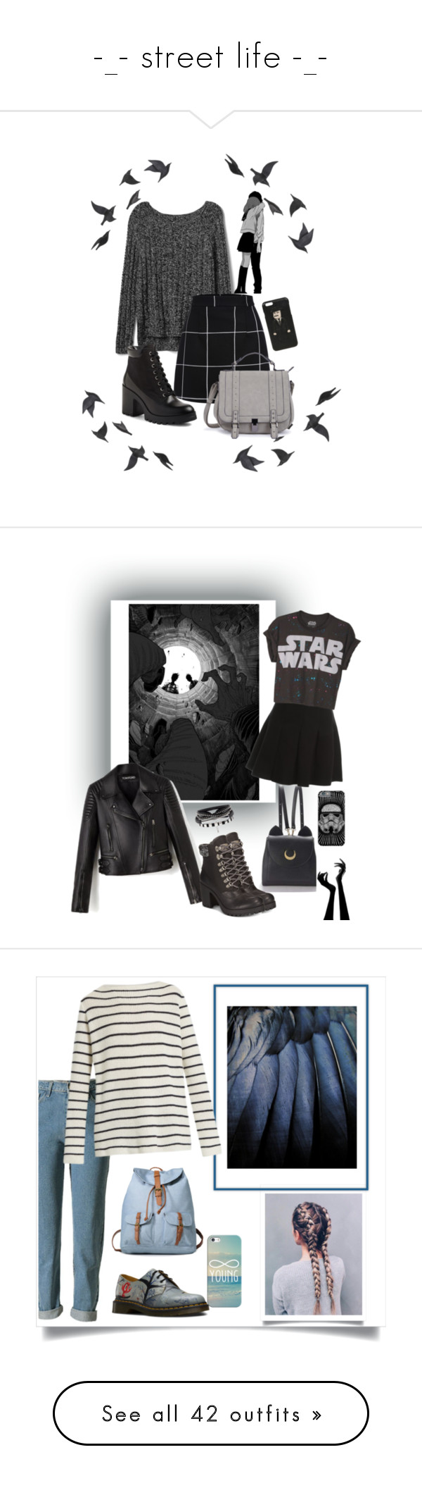 """-_- street life -_-"" by legozorg ❤ liked on Polyvore featuring Gap, BP., Jayson Home, Dolce&Gabbana, WithChic, Alexander Wang, ZiGiny, shaheenk, Dr. Martens and Casetify"