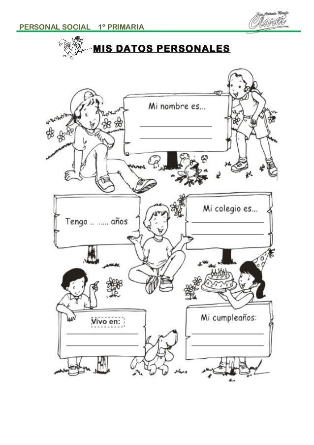 Personal social primer grado | ps | Primer, Diagram, Education