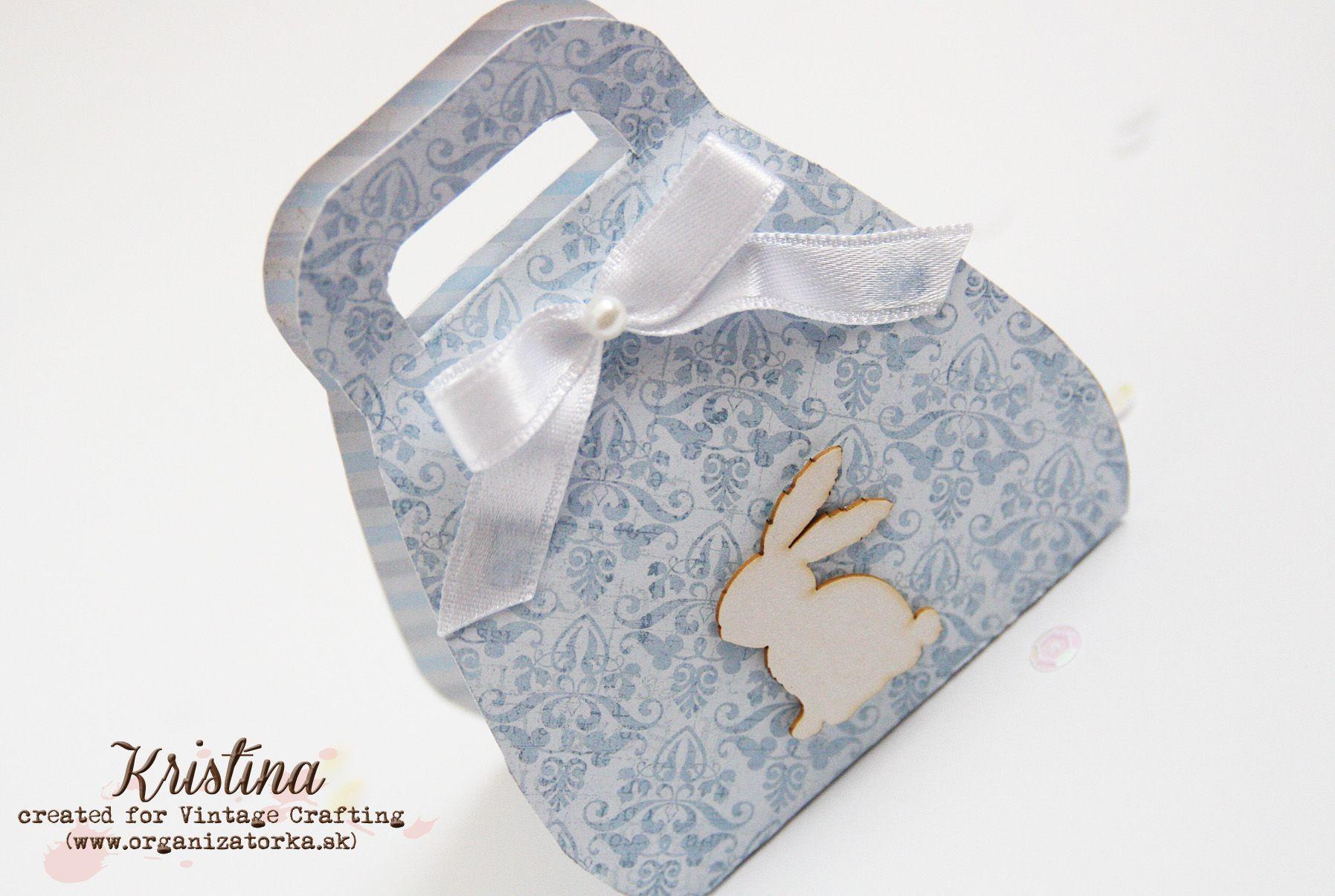 Veľkonočná krabička na sladkosti / Easter treats gift box