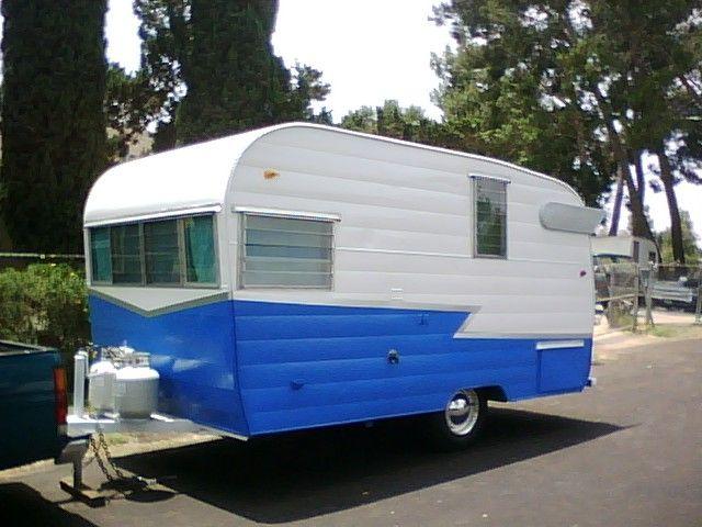 Vintage Shasta Campers 1962 Shasta 16 Ft 5000 8 Vintage