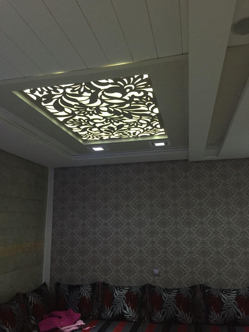 Prodigio oujda maroc cnc patterns pinterest ceilings - False wall designs in living room ...