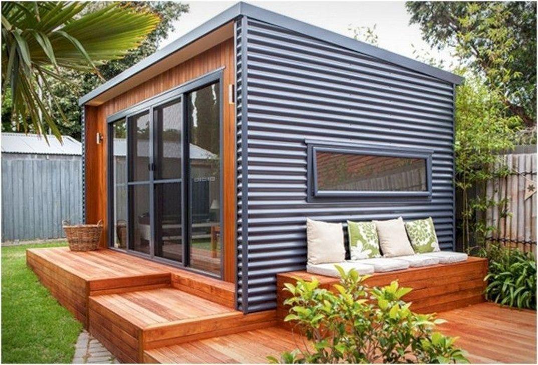 Inoutside Creates A Small Backyard Office | ARCHITECTURE ...
