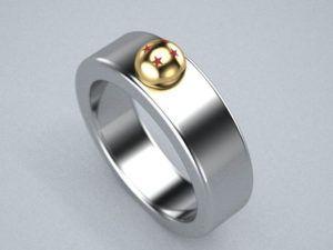 Dragon Ball promise ring Geeky promise rings for him Pinterest