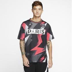 Photo of Psg Mesh Short Sleeve Top – Black Nike