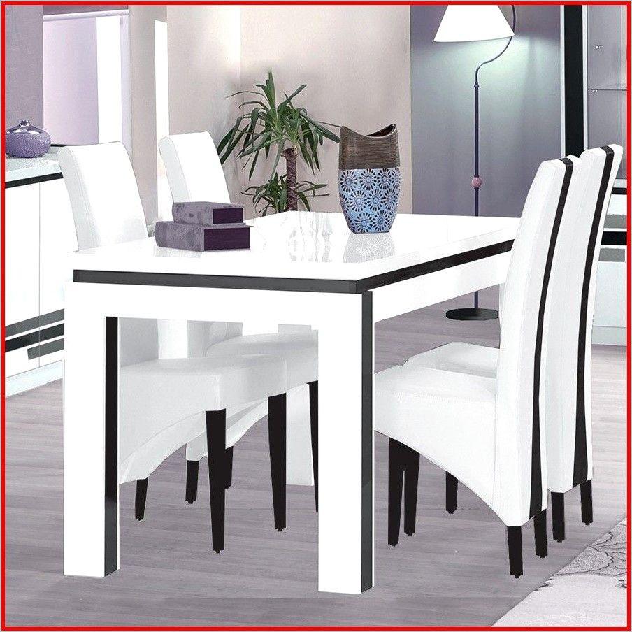 salle a manger moderne blanche complete