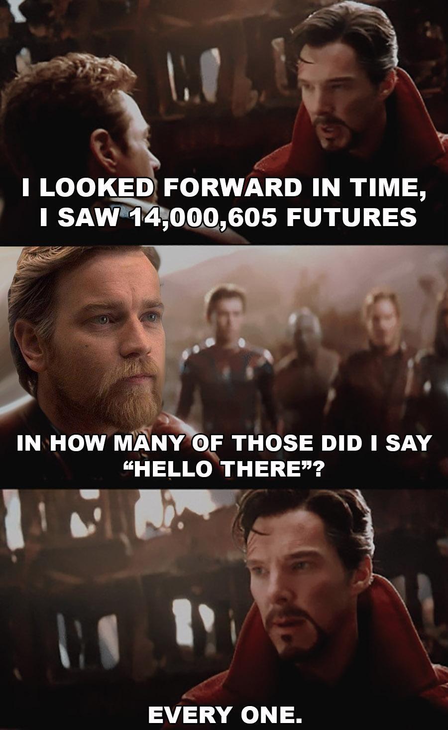 General Kenobi......   Funny star wars memes, Star wars humor ...