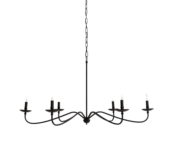 Decor Look Alike The Pottery Barn Lucca Chandelier