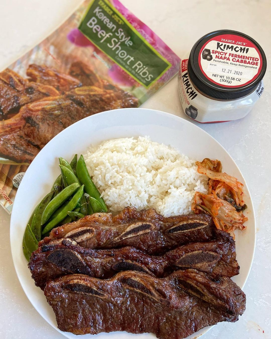 3 221 Likes 57 Comments Trader Joes Obsessed More Traderjoesobsessed On Instagram Tonight S Delicious Dinner W Bbq Beef Short Ribs Beef Short Ribs