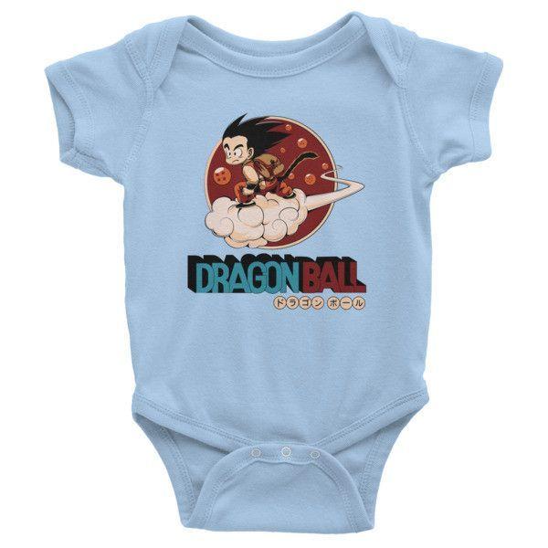 Super Saiyan Goku Infant short sleeve one-piece Shirt- PF00252BO