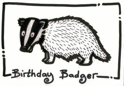 Happy Birthday Badger Badger Happy Birthday Gorgeous Gift