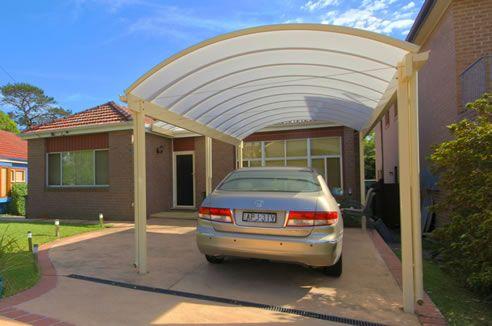 Best Curved Roof Carport Carport Designs Pergola Carport 400 x 300