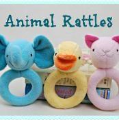 Animal Rattles - via @Craftsy