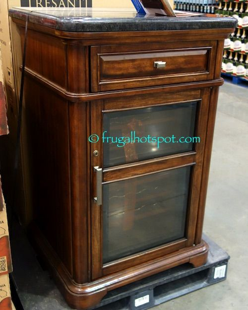Tresanti 24 Bottle Wine Cooler With Granite Top. #Costco #FrugalHotspot