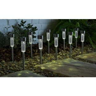 Buy solar long lens decorative outdoor light set of 10 at argos buy solar long lens decorative outdoor light set of 10 at argos aloadofball Choice Image