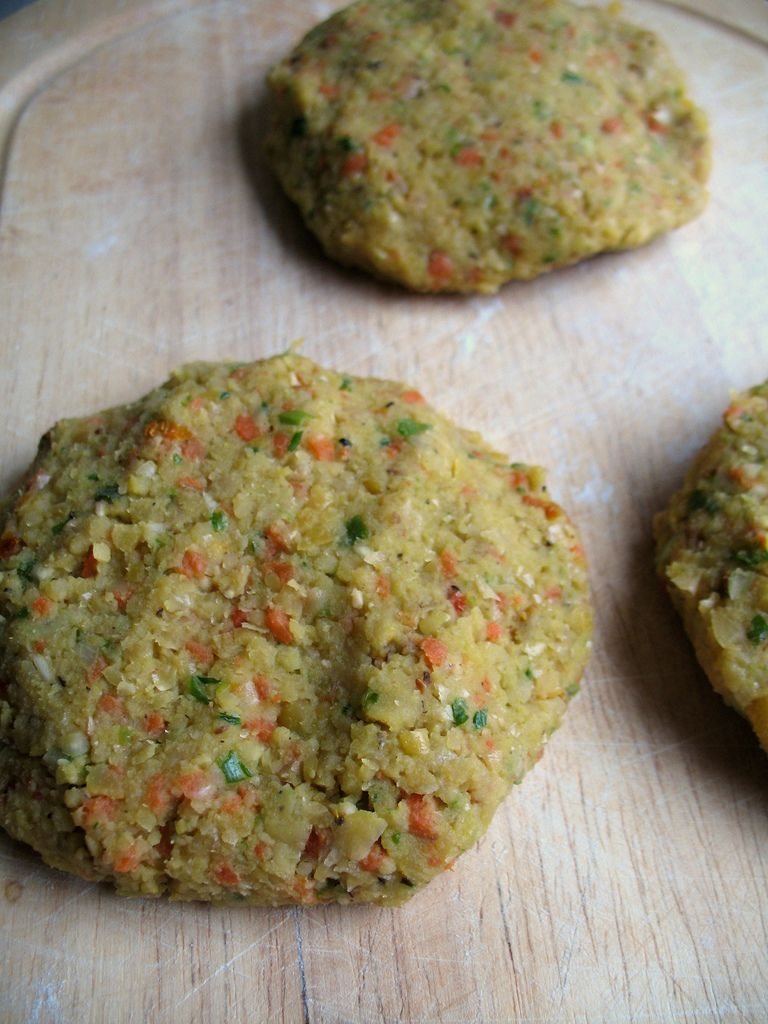 Easy Chickpea Freezer Patties | Not Eating Out in New York