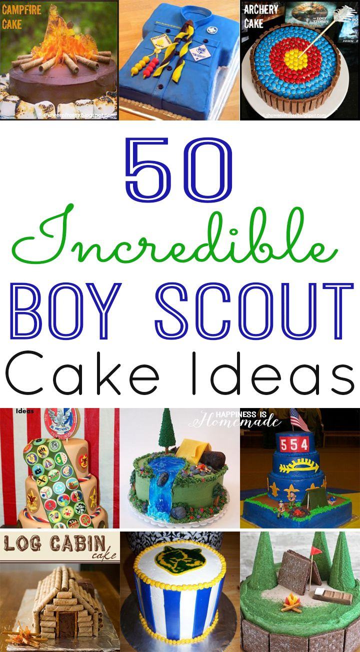 50 Incredible Boy Scout Cake Ideas | Blue gold, Awesome and Boys